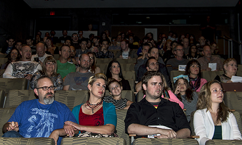 More than 100 guests attended the third  annual Breakout Film Challenge screening at the Phoenix Art Museum on Wednesday. The challenge is a contest that will send one filmmaker to over twenty national film festivals and one festival in France. (Brian Fore/DD)