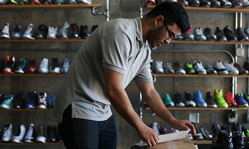 Pound for Pound: A local shoe store is on the forefront of