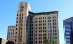 The previously-empty Professional Building in Downtown Phoenix is being renovated into a Hilton Garden Inn hotel, which is set to open within the next few months. (Nicholas Serpa/DD)
