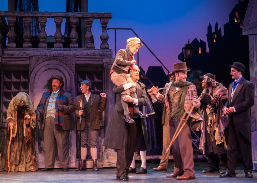 """""""A Christmas Carol: The Musical"""" runs through Dec. 24 at the Herberger Theater Center. (Courtesy of Herberger Theater Center)"""