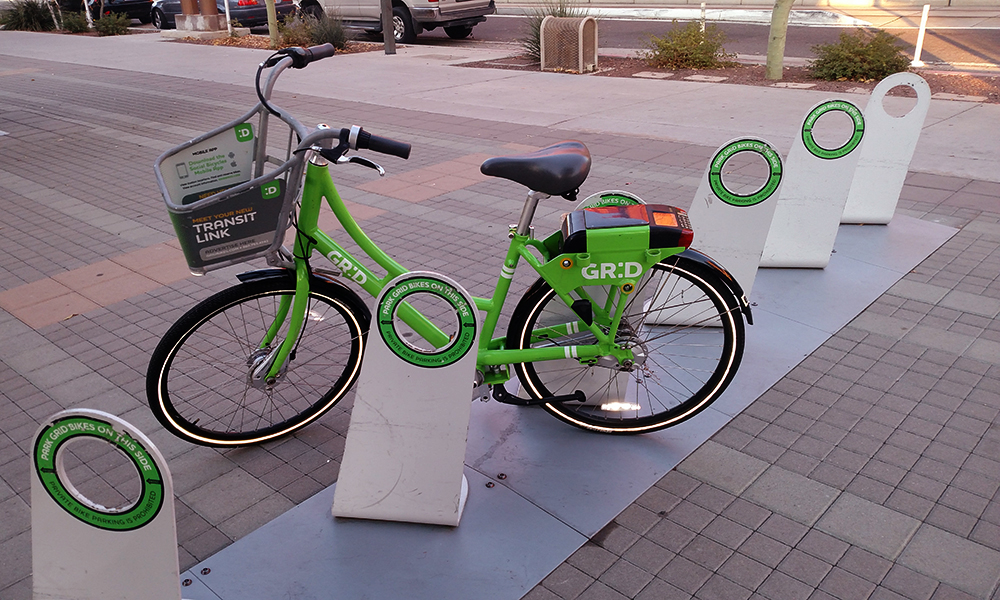 The city of Phoenix has invested in the Grid Bike Share program but has much more to build to create a bikeable city.
