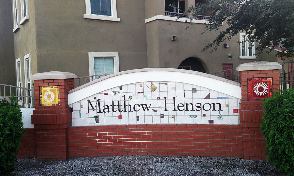 The Matthew Henson Village at Seventh Avenue and Buckeye is one of three public housing facilities in Phoenix supported by the United States Department of Housing and Urban Development's Housing Opportunities for People Everywhere. (Ryan Boyd/DD)