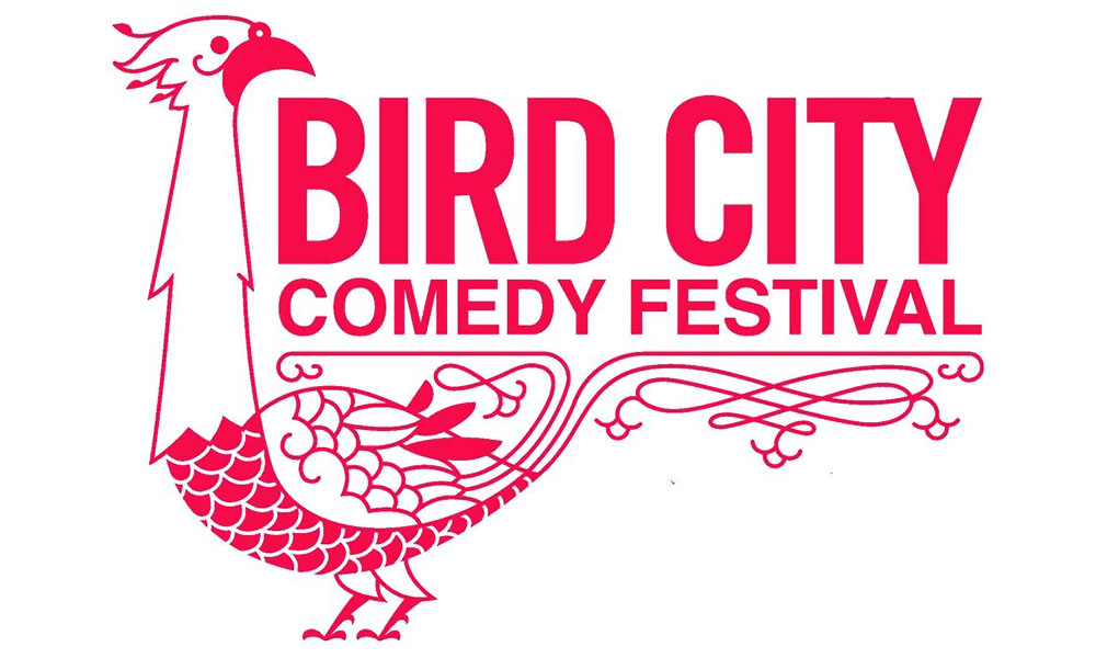 The second annual Bird City Comedy Festival runs Thursday through Sunday, with standup, improv and storytelling performances. (Courtesy of J. Gonzo Designs)